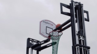 StaplerCup Spielstation Basketball